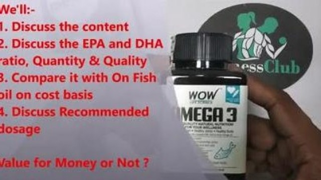 Wow Omega 3 Fish oil Review   ON Vs Wow Omega 3   Best Fish Oil   Wow Omega 3 fish oil Unboxing