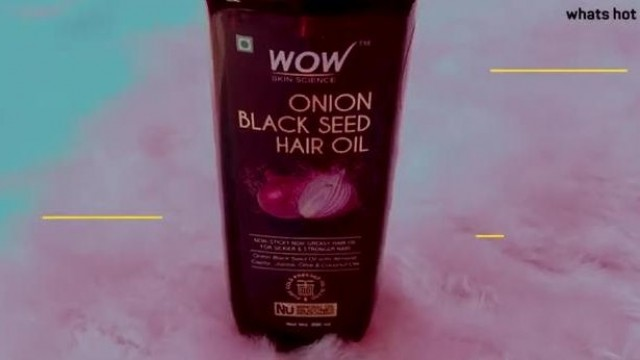 WOW Onion Black Seed Hair Oil Review
