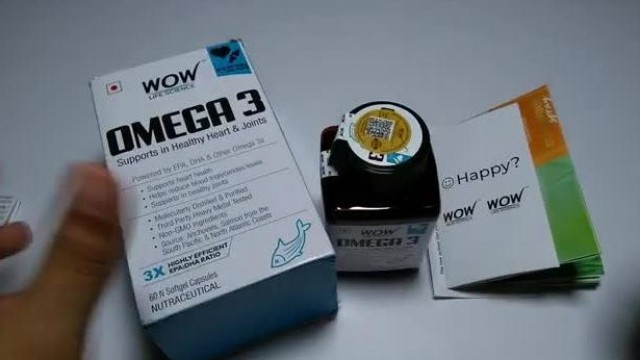 Wow Omega 3 Fish Oil Capsules | | Unboxing & First Impressions | | Healthy Heart & Healthy Joints.