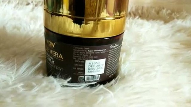 WOW ALOEVERA MULTI -VITAMIN Face Cream Honest Review+ Demo    Anti-Aging & Overall Skin Repair cream