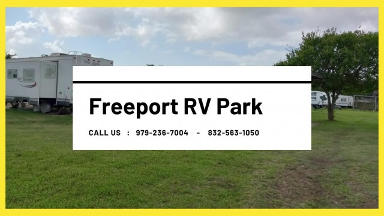 RV Park in Surfside Beach TX - RV Park in Clute TX