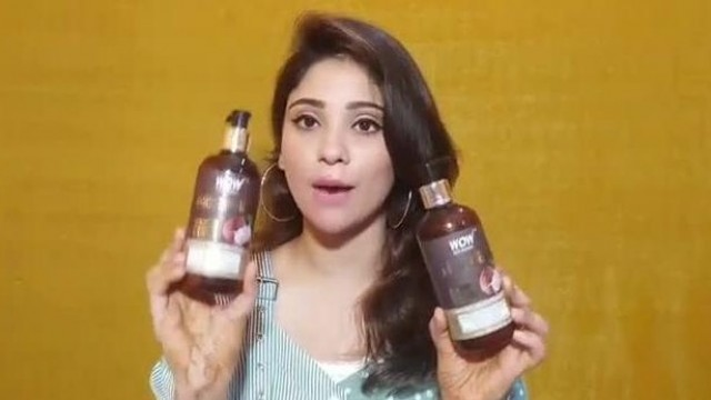 My hair care    wow coconut Shampoo & conditioner