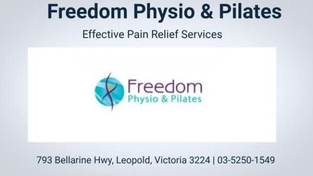 Freedom Physio & Pilates - Best Physiotherapist in Leopold, Victoria
