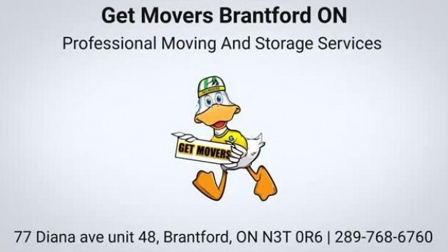 Get Movers Brantford ON - Professional Moving Company