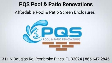 PQS Pool & Patio Renovations - Best Pool Screen Enclosure   866-647-2846