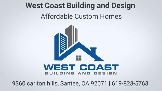 West Coast Building and Design - Affordable Custom Homes in Santee CA