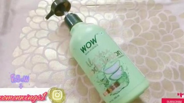 Wow Aloe Vera Body Lotion Review।Wow Skin Science product review।#wowproducts#wowaloeverabodylotion