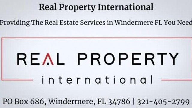 Real Property International   Homes for sale in Windermere FL