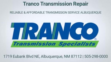 Tranco Transmission Repair - Affordable Car Transmission Service In Albuquerque