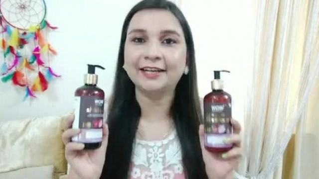 My Updated Haircare Routine ll Wow Red Onion and black seed oil hair care range Review ll