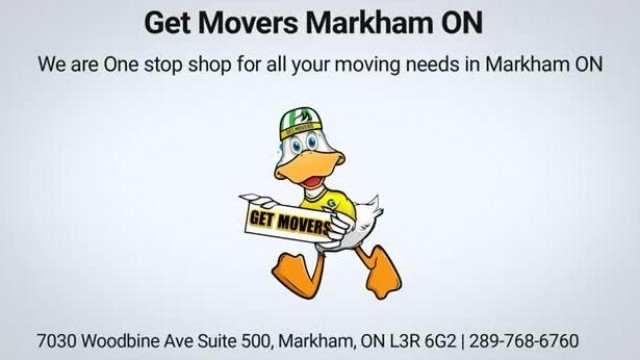 Get Movers Markham ON - Affordable Moving Company | 289-768-6760