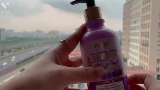 Review - Wow skin Science Rice water & Lavender hair shampoo and hair mask