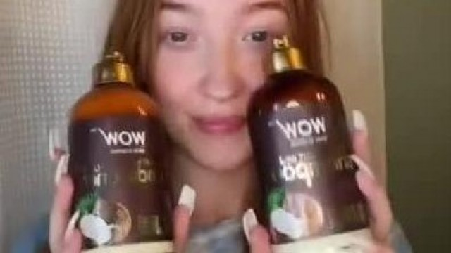 WOW Skin Science Coconut Milk Shampoo and Conditioner