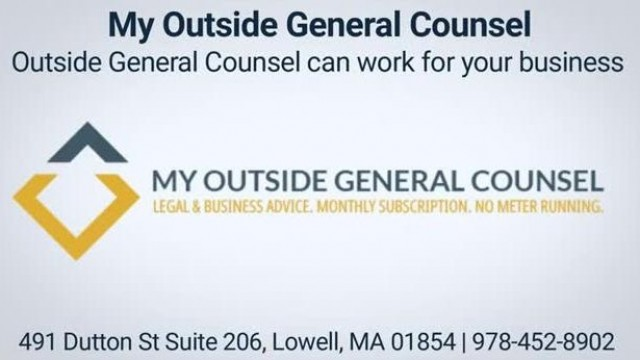 My Outside General Counsel Service in Lowell, MA