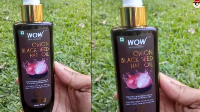 WOW Skin Science Onion Black Seed Hair Oil Review,Uses & Benefits|Controls HairFall|Baal Jharna Roke